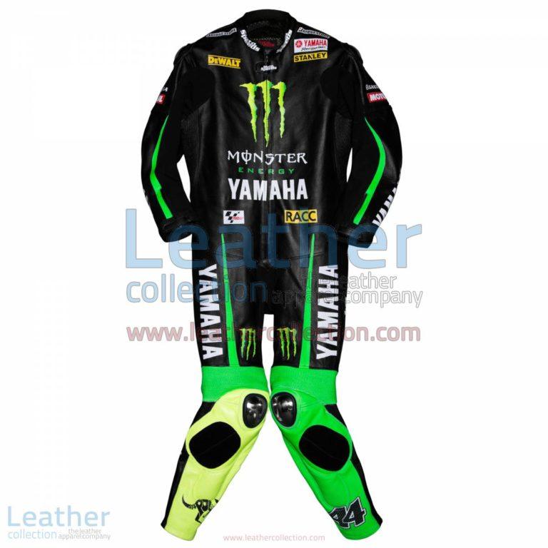 Pol Espargaro Yamaha Monster 2015 Leathers   yamaha leathers,monster energy apparel