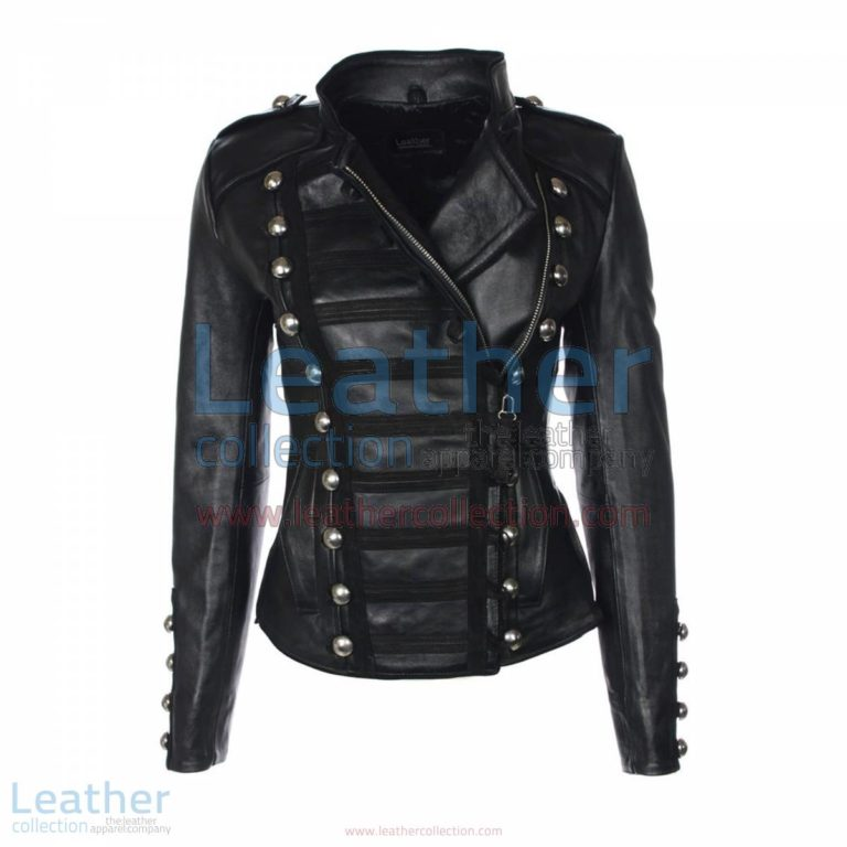 Princess Leather Jacket Black | leather jacket black,princess jacket