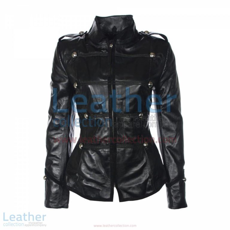 Princess Military Leather Jacket | military leather jacket,princess jacket