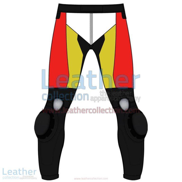 Quad Color Motorbike Leather Pant For Men | Leather Pant Men,Quad Color motorcycle Leather Pant For Men