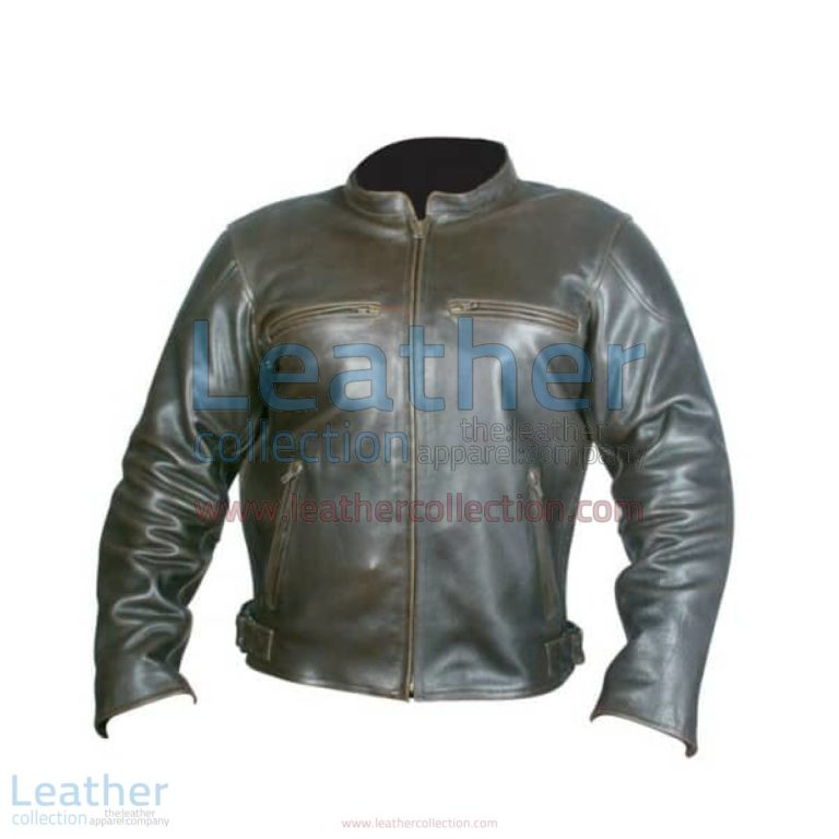 Retro Brown Leather Jacket | brown leather jacket,retro brown leather jacket