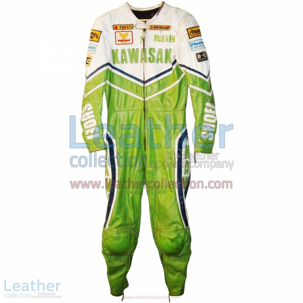 Rueben McMurter Canadian SBK Kawasaki Leathers | kawasaki clothing,kawasaki leathers