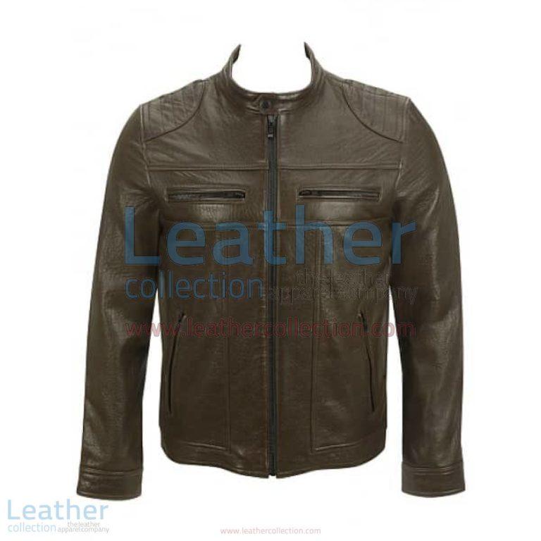 Saddle Shoulder Antique Leather Jacket | leather jacket,antique leather jacket