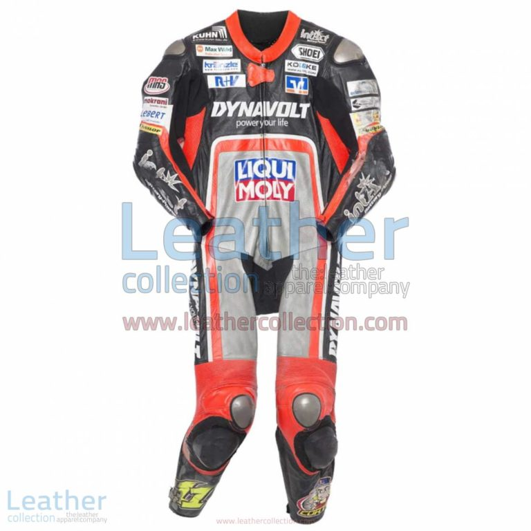 Sandro Cortese 2014 Moto2 Motorbike Leather Suit | leather suit,motorcycle suit