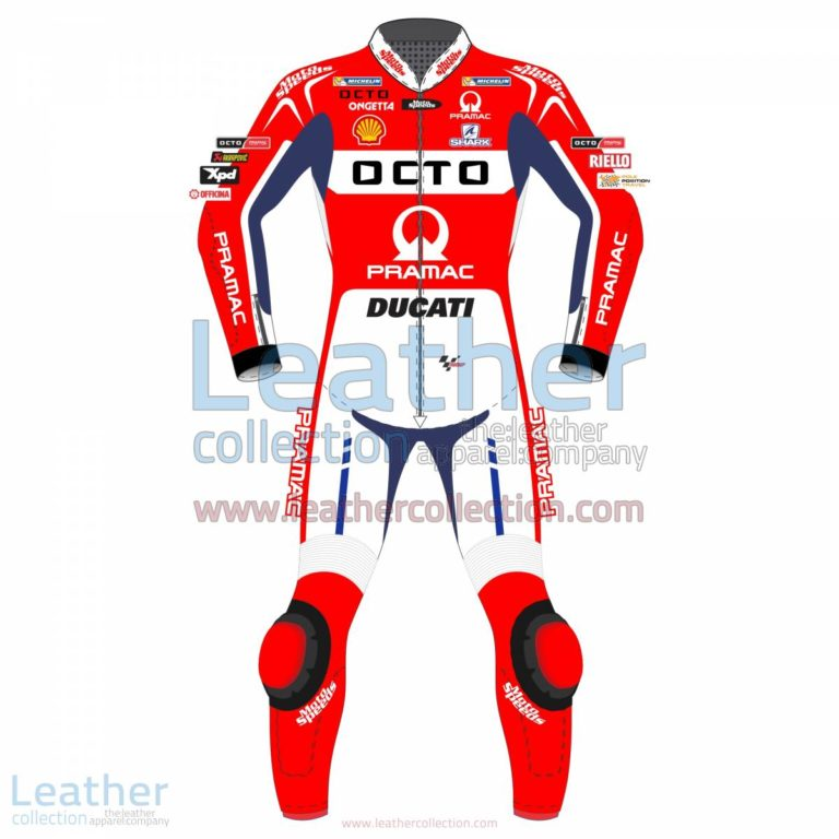 Scott Redding Ducati Pramac 2017 MotoGP Leather Suit | Scott Redding,Scott Redding Ducati Pramac 2017 MotoGP Leather Suit