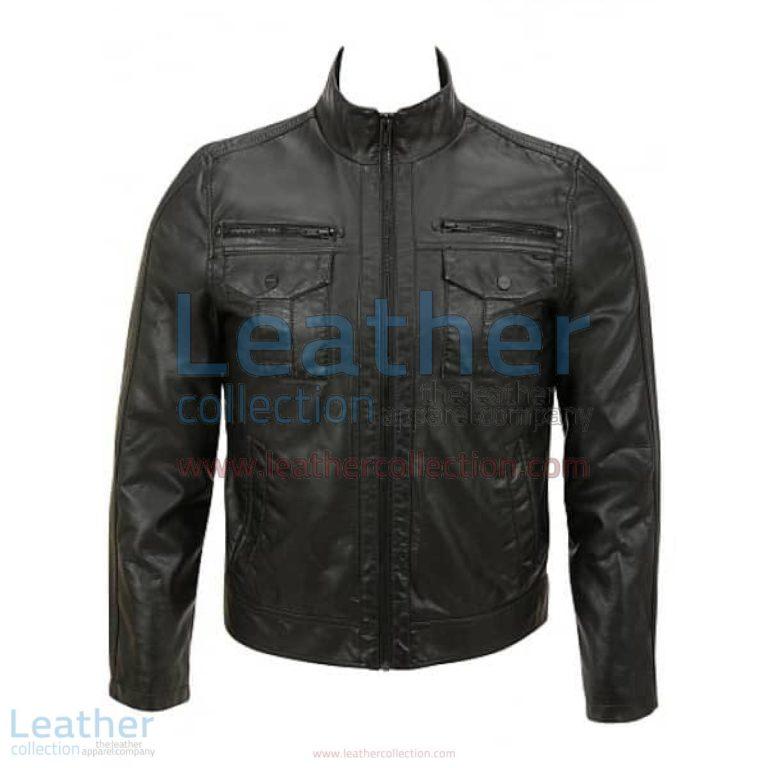 Semi Fashion Moto Leather Jacket   fashion leather jacket,fashion moto jacket