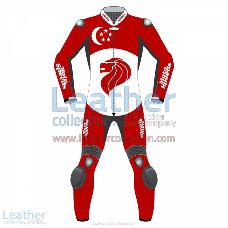 Singapore Flag Moto Suit | motorcycle suits,moto suit