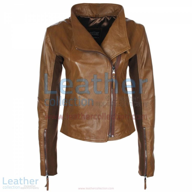 Ladies Sovereign Leather Jacket Antique Brown | leather jackets,ladies jacket