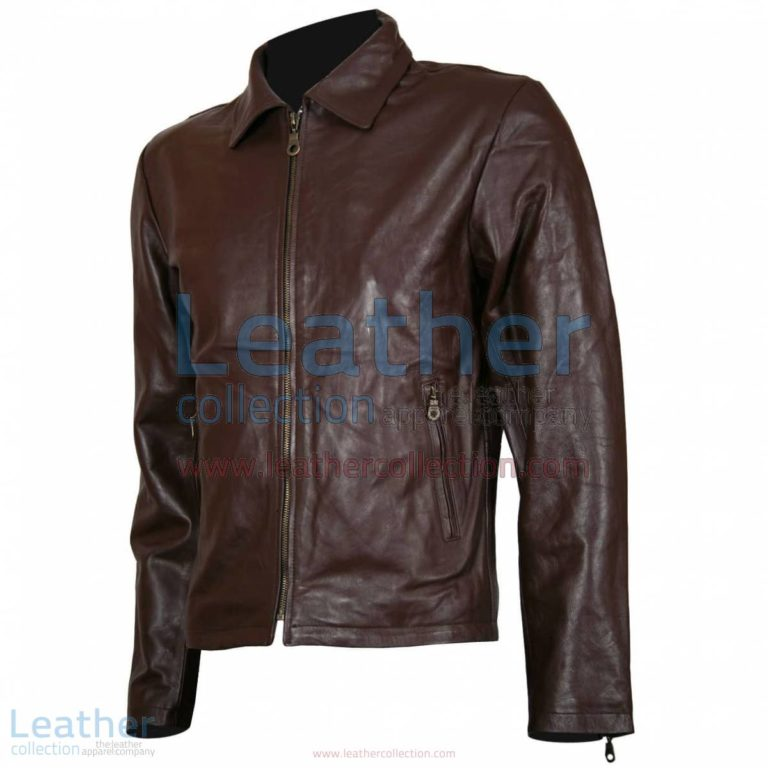 Spartan Robert Scott Leather Jacket | movie jackets,leather jacket