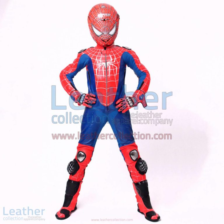 Spiderman 3 Riding Leathers | motorcycle leathers,riding leathers