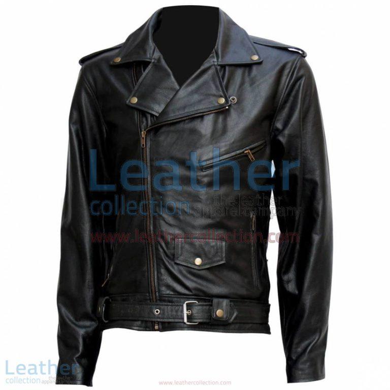 "Terminator "" Arnold "" Biker Leather Jacket | terminator jacket,biker leather jacket"