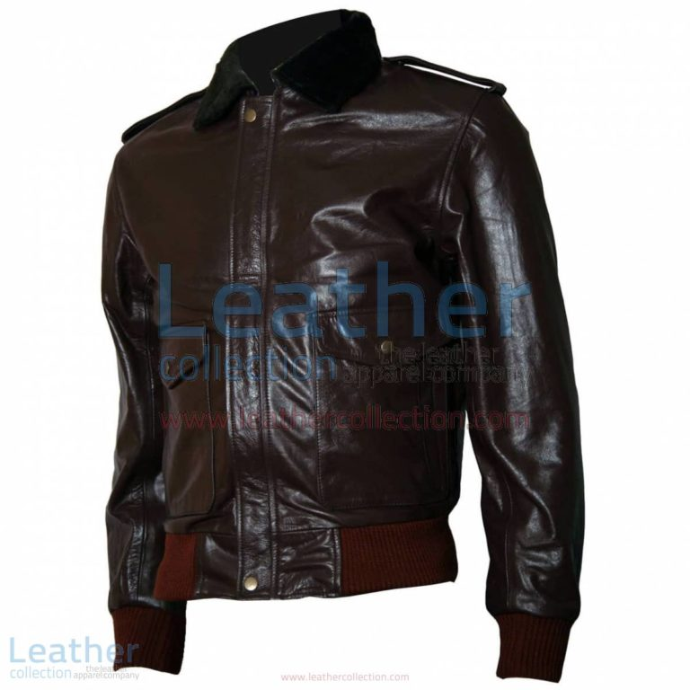 The Thing R. J. MacReady Brown Leather Jacket | movies jackets,brown leather jacket