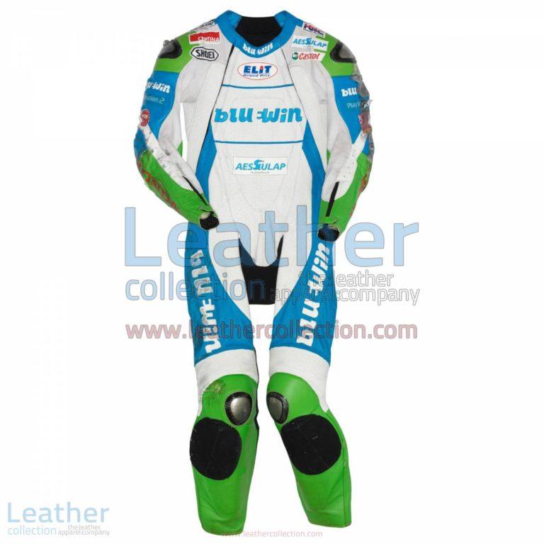 Thomas Luthi Honda GP 2005 Leather Suit | thomas luthi,honda suit