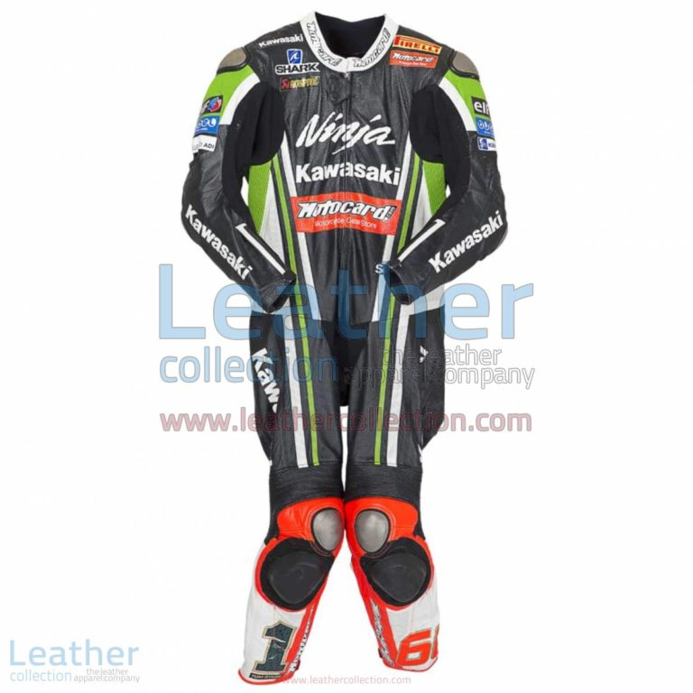 Tom Sykes Kawasaki 2014 Motorcycle Suit | motorcycle suit,kawasaki apparel