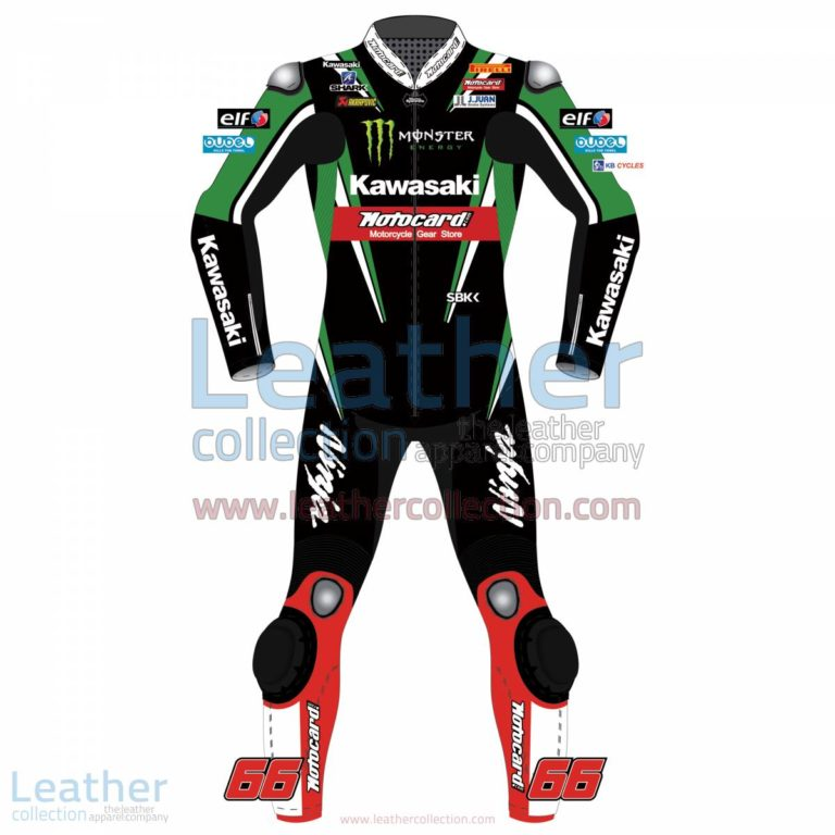 Tom Sykes Kawasaki WSBK 2016 Racing Suit | Kawasaki racing suit,Tom Sykes