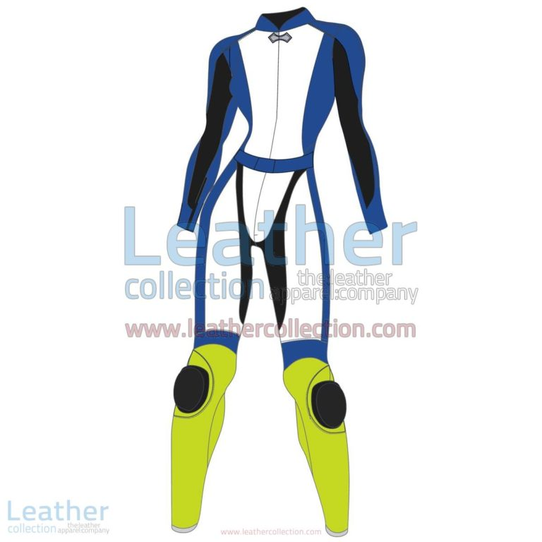 Tri Color Two-Piece Motorbike Leather Suit For Women | Two Piece motorcycle Suit,Tri Color Two-Piece motorcycle Leather Suit For Women