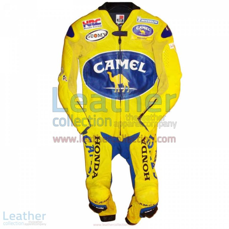 Troy Bayliss Camel Honda GP 2005 Leathers | honda leathers,troy bayliss