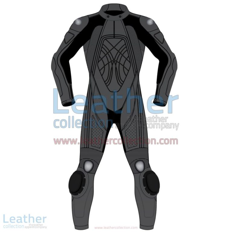 Uni Color One-Piece Motorbike Leather Suit for Men | motorcycle leather suit,Uni Color One-Piece motorcycle Men Leather Suit