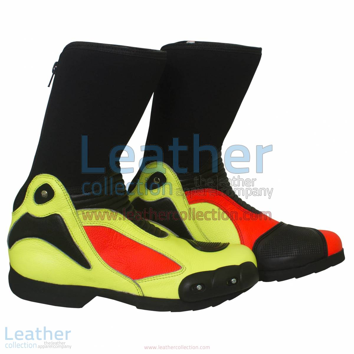 Valentino Rossi 2011 Leather Biker Boots | leather biker boots,valentino rossi boots