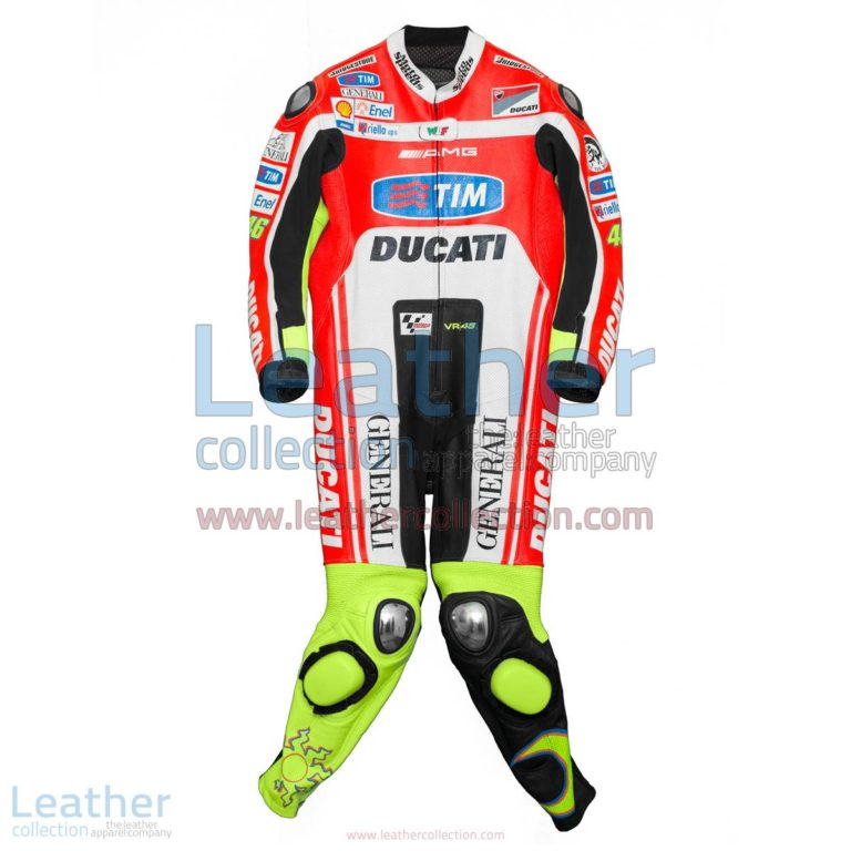 Valentino Rossi Ducati Corse 2012 Leathers | valentino rossi clothing,ducati corse
