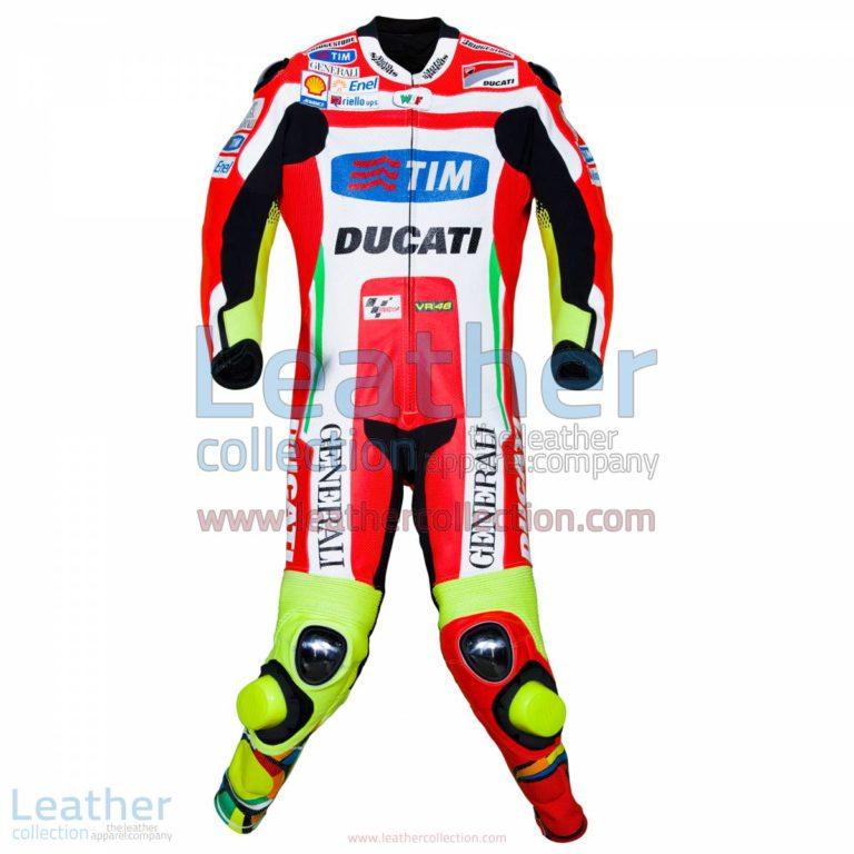 Valentino Rossi Ducati MotoGP 2012 Leathers | ducati leathers,valentino rossi leathers