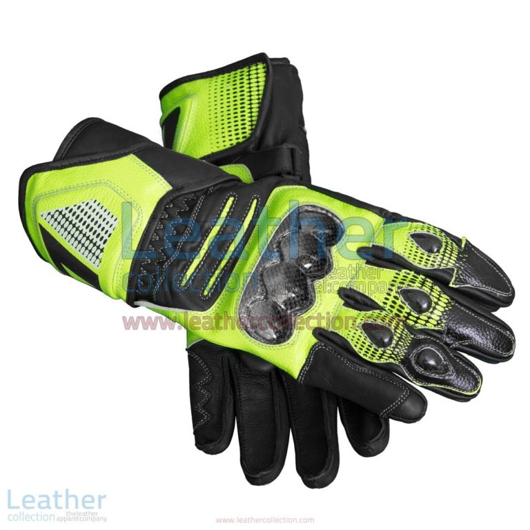 Valentino Rossi Motorcycle Race Gloves | Valentino Rossi gloves,Motorcycle race gloves