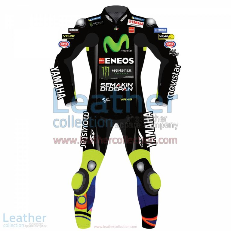 Valentino Rossi Movistar Yamaha Racing 2017 Suit Black | Yamaha racing,Valentino Rossi clothing