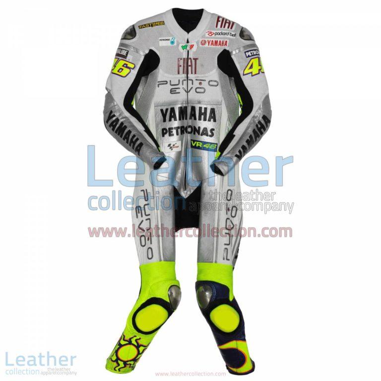 Valentino Rossi Yamaha Fiat 2009 Racing Suit | yamaha apparel,racing suit