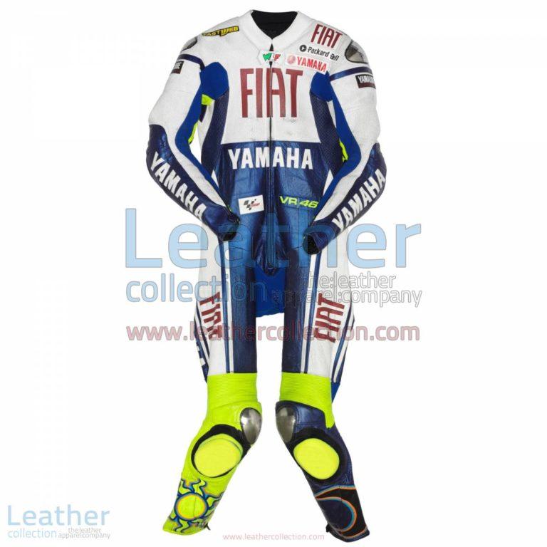 Valentino Rossi Yamaha Fiat MotoGP 2009 Suit | yamaha clothing,valentino rossi suit