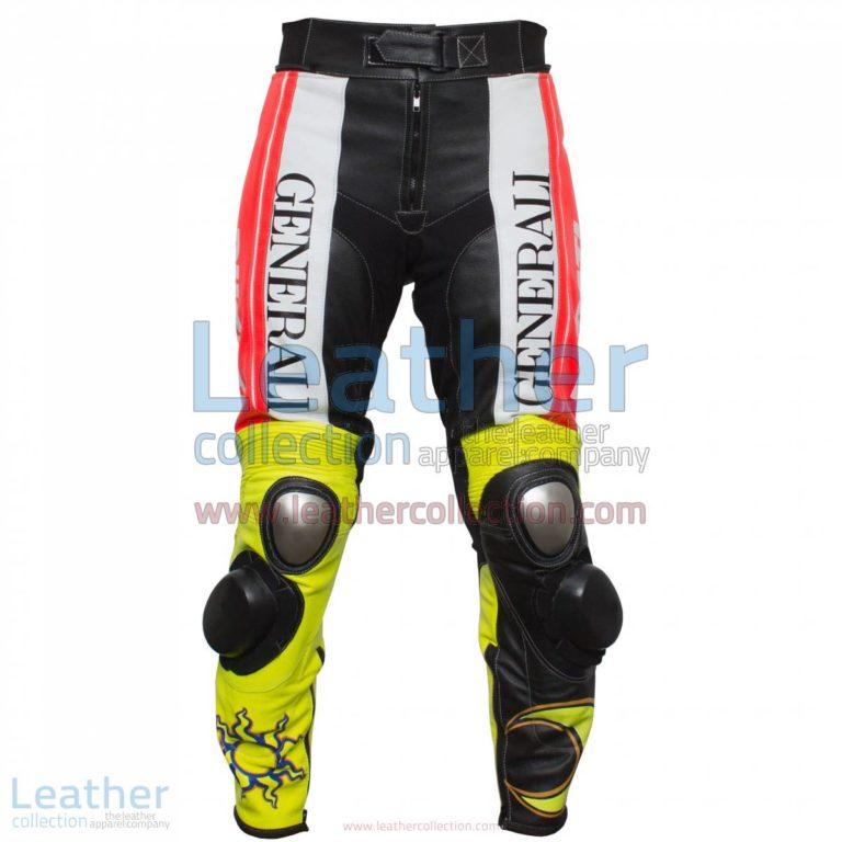 Valentino Rossi Ducati Corse Leather Pants | Ducati leather pants,Valentino Rossi pants