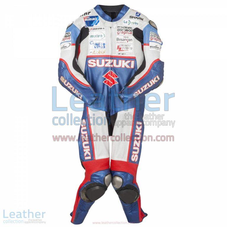 Vincent Philippe Suzuki 2013 Racing Suit | racing suit,Suzuki racing suit