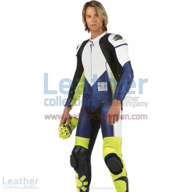 VR46 Racing Leather Suit | racing leather suit,vr46