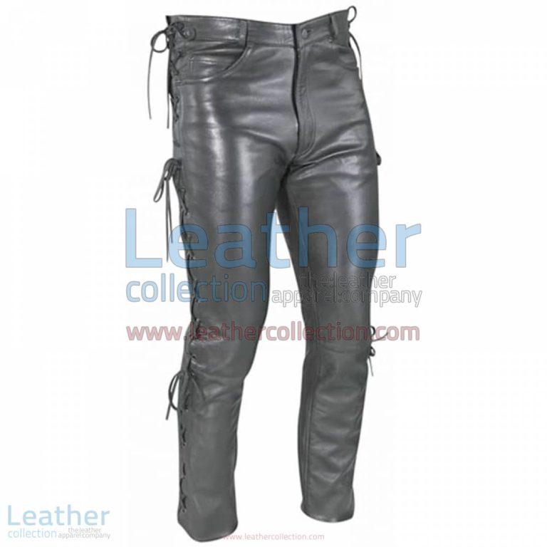 Women Leather Lace Pants | women leather pants,lace pants