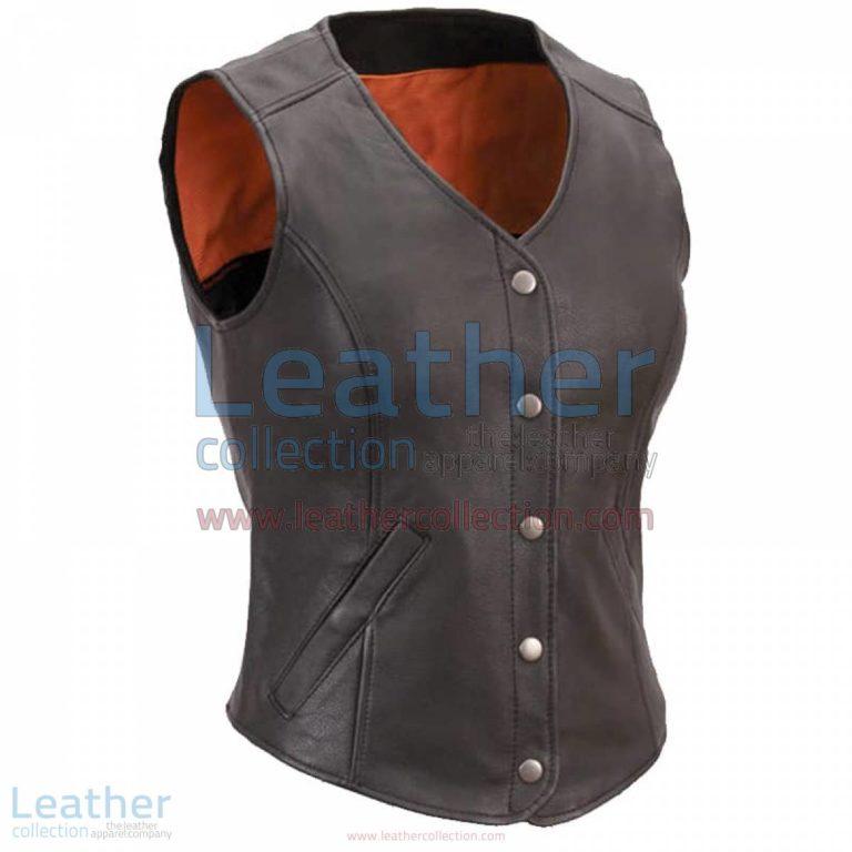 Women Leather Motorcycle Vest | motorcycle vest,women motorcycle vest