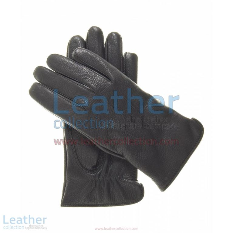 Women Winter Gloves Black with Wool Lining | women winter gloves,black winter gloves