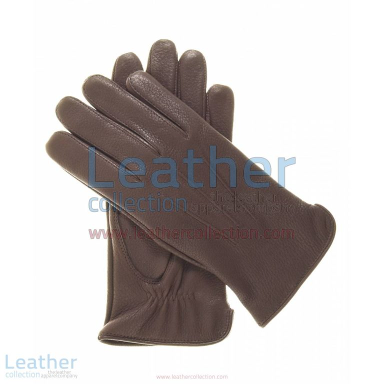 Women Winter Gloves Brown with Wool Lining | winter gloves,women winter gloves
