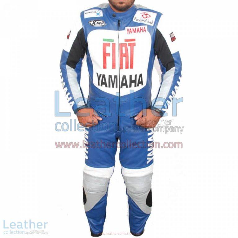 Yamaha FIAT Motorcycle Racing Leather Suit   yamaha racing,yamaha fiat