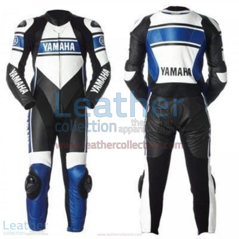 Yamaha Motorcycle Leather Suit Blue | yamaha clothing,yamaha leather suit