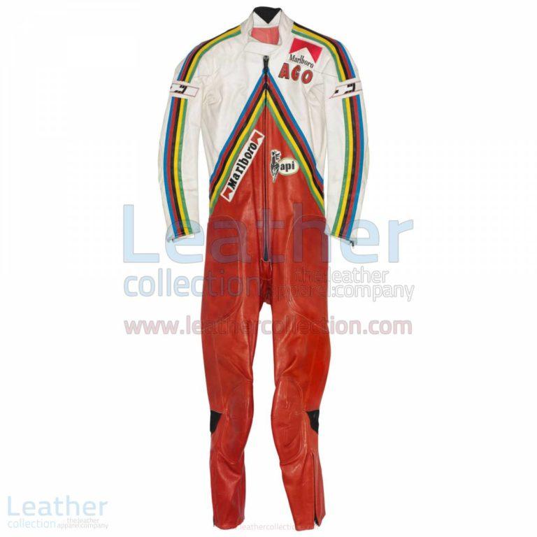 Giacomo Agostini MV Agusta GP 1975 Race Suit – MV Agusta Suit