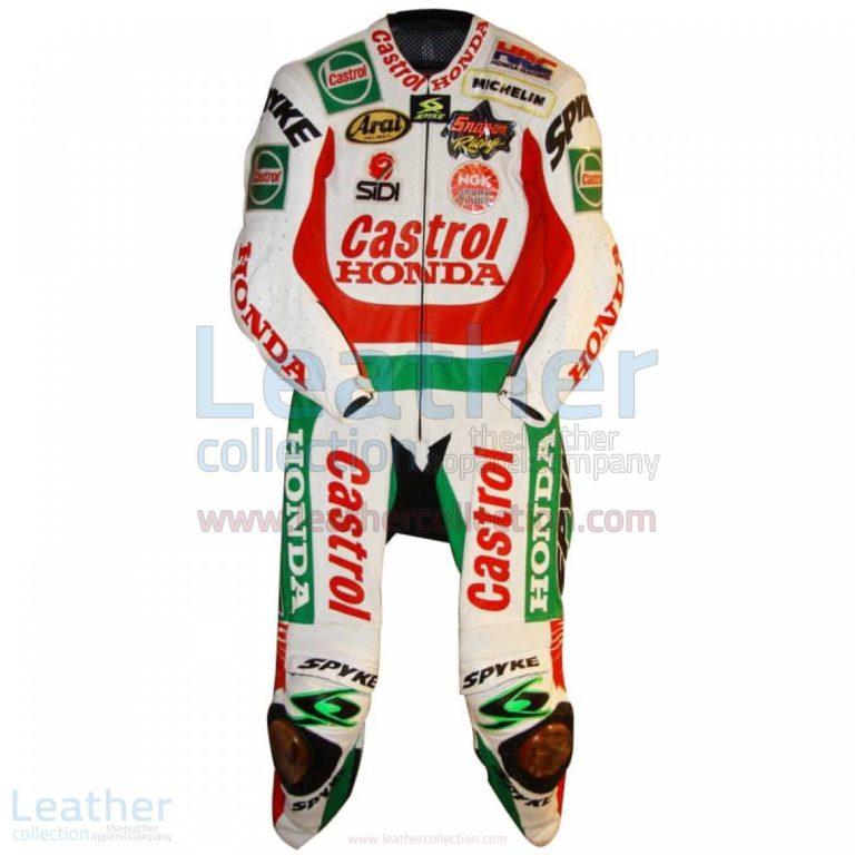 Aaron Slight 1997 WSBK Castrol Honda Leathers – Honda Suit