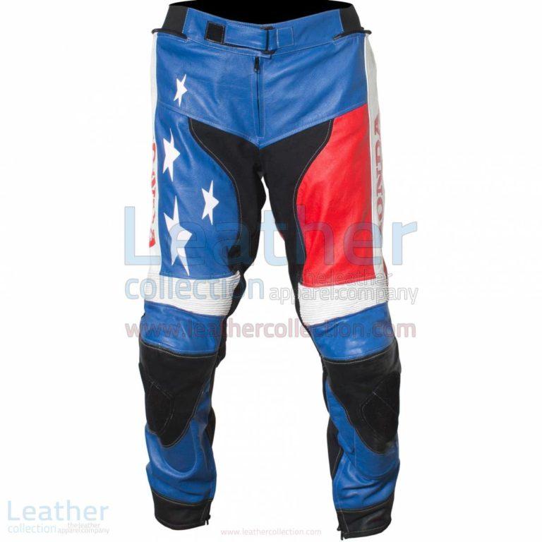 American Honda Moto2 Moriwaki MD600 Leather Pants – Honda Pant