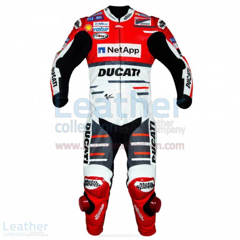 Andrea Dovizioso Ducati MotoGP 2018 Leather Suit – Ducati Suit