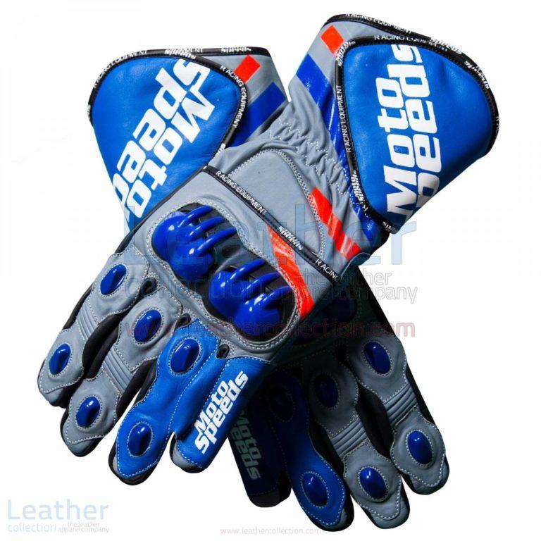 Andrea Dovizioso 2018 Leather MotoGP Gloves –  Gloves