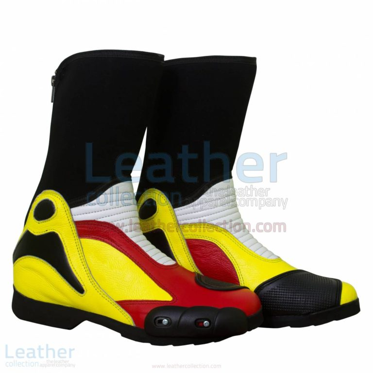 Andrea Iannone Motorbike Race Boots –  Boot