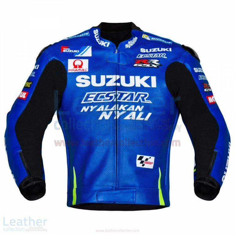 Andrea Iannone Suzuki MotoGP 2017 Leather Jacket – Yamaha Jacket