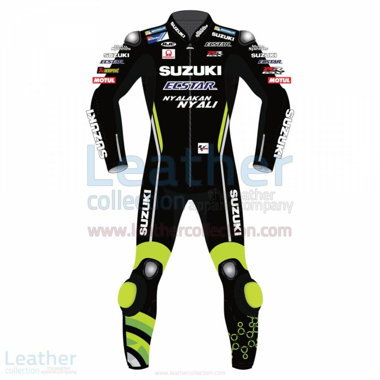 Andrea Iannone Suzuki MotoGP 2018 Leather Suit Black – Suzuki Suit