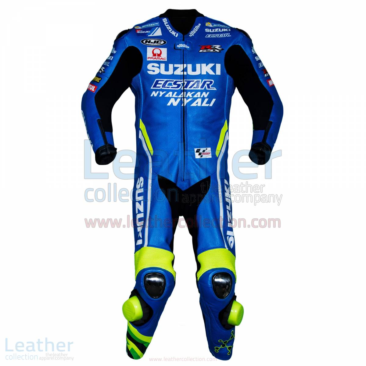 Andrea Iannone Suzuki MotoGP 2018 Leather Suit – Suzuki Suit