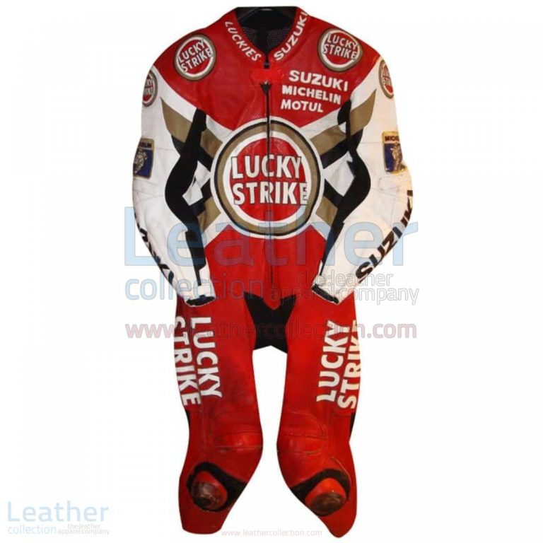 Anthony Gobert Suzuki Lucky Strike 1997 MotoGP Leathers – Suzuki Suit