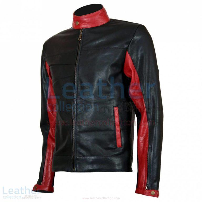 Batman Biker Black Leather Jacket –  Jacket