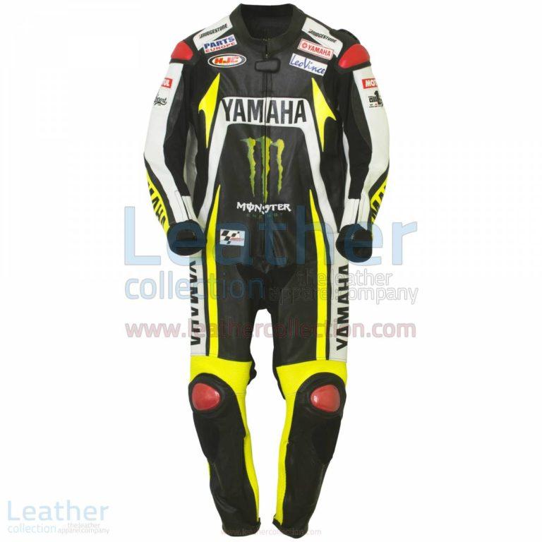 Ben Spies Monster Yamaha 2010 Motorbike Leather Suit – Yamaha Suit